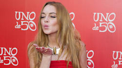 Lindsay Lohan «live tweet» le