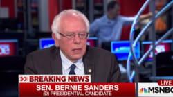 Sanders annonce qu'il votera pour Clinton à la