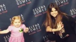 セレーナ・ゴメスが7歳の難病少女とかわいらしいダンスセッション(動画)