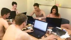 In questo posto la gente lavora nuda. Ma c'è un perché