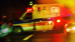 Trois personnes grièvement blessées dans un accident à Saint
