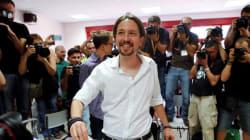 Douche froide pour Podemos, d'abord annoncé 2e mais arrivé à la 3e place des législatives