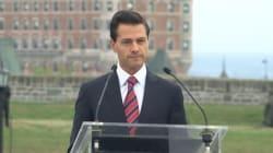 Le président du Mexique en visite à