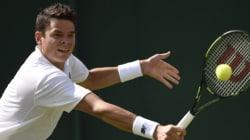 Wimbledon: Milos Raonic s'assure la victoire à son premier