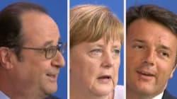 La petite blague de Renzi sur l'Euro fait sourire Hollande... mais pas