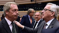 Juncker, a Farage: