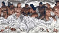 Lena Dunham ne veut pas regarder le clip de Kanye West avec des stars