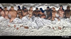 Un'orgia con Taylor Swift, Donald Trump, Rihanna e molti altri: la foto scandalo di Kanye
