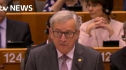 Jean-Claude Juncker mouche l'apôtre du Brexit au Parlement