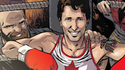 Super Trudeau Graces The Cover Of Marvel