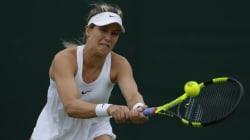 Wimbledon : Bouchard ne peut compléter son match de premier tour à cause de la