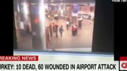 L'esplosione dentro l'aeroporto di Istanbul