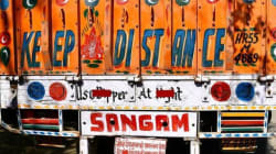 There Is Solid Science Behind The Colourful Messages On The Backs Of Indian