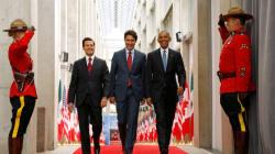 Les «trois amigos» s'entendent sur le climat