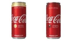 QUERO! Coca-Cola traz edições limitadas de cereja e baunilha ao