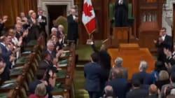 Obama a vraiment dû savourer ce moment au Parlement