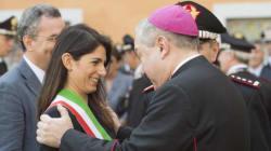 Virginia Raggi da Papa