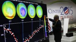 Le trou dans la couche d'ozone continue à se