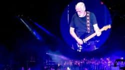 David Gilmour al Circo Massimo: il pubblico esulta per il goal