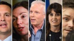 Soirée d'entrevues avec les 5 candidats à la chefferie du
