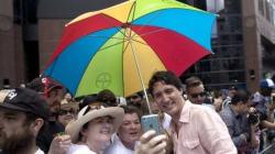 Trudeau au défilé de la fierté à Toronto, une première