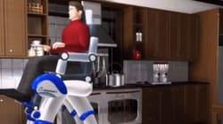 Ce fauteuil roulant a une solution pour tous les obstacles du
