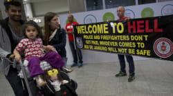 «Bienvenue en enfer!»: l'étonnant accueil des policiers de