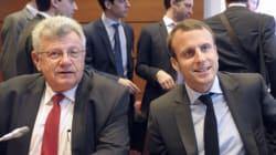 A Bercy, le ton monte entre Emmanuel Macron et Christian
