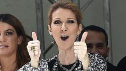 Céline Dion ne ménage pas ses émotions au premier rang des défilés à