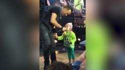 Cette petite fille de 4 ans a bluffé Bruce