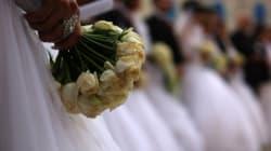 El ramo-petaca para novias: el invento que no sabías que