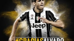 La emotiva despedida de la Juventus a Morata: