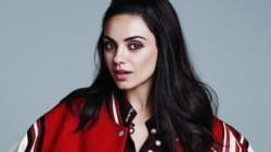 Mila Kunis sans maquillage pour le magazine