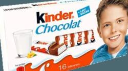 Les barres de chocolat Kinder soupçonnées d'être