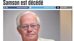 Le chroniqueur J.-Jacques Samson est décédé