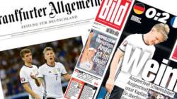La presse allemande a le moral dans les chaussettes après la victoire de la