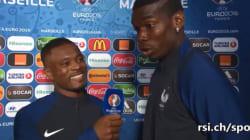 Evra et Pogba s'interviewent mutuellement en italien après
