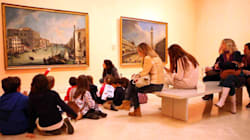 ¿Es posible que un niño disfrute en un museo? Aquí, las