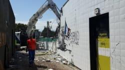 La fresque polémique à Grenoble a été détruite (comme