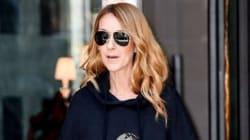 Céline Dion nous fait vivre un moment avec ce coton ouaté