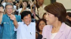 島尻安伊子・沖縄担当相が落選 辺野古移設で翁長知事「民意が示された」