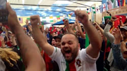 Les Portugais de Montréal célèbrent leur victoire à l'Euro