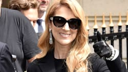 Celine Dion Steps Out In A 'Titanic'