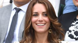 Kate Middleton Wears Skull Print Dress To
