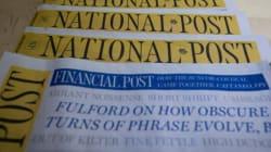 Le National Post met fin à son édition papier du