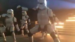 La danse de ces stormtroopers est
