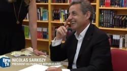 Nicolas Sarkozy ironise sur