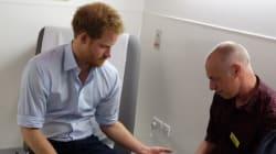 Le Prince Harry fait un test de dépistage du VIH en direct sur