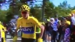 Froome obligé de courir pour terminer son étape du Tour de France!