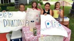 Girls Raise $10,000 For Dallas Victims Thanks To Lemonade